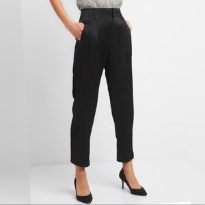 GAP NWT Pleated Satin Trousers